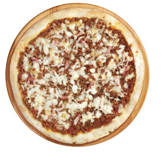 Pizza barbacoa premium 28 cm