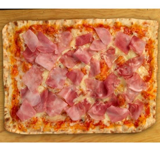 Pizza Jamón y queso premium 26x38cm