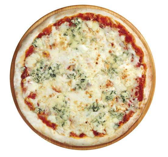 Pizza 4 quesos premium 28 cm