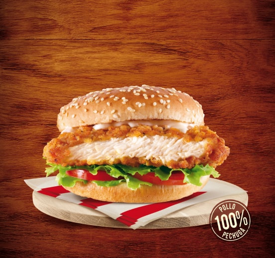Chicken fillet burguer